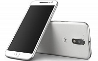 Motorola Moto G4 Plus White Front, Back and Side pictures