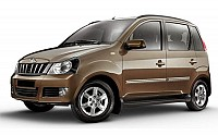 Mahindra Quanto C6 Java Brown pictures