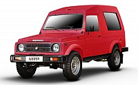 Maruti Gypsy King Soft Top MPI Ruby Red pictures
