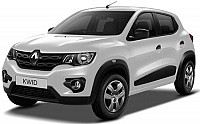 Renault KWID 1.0 RXT Optional Ice Cool White pictures
