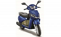 mahindra gusto vx special edition Pacific Matt Blue pictures