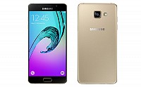 Samsung Galaxy A5 (2016) Gold Front And Back pictures