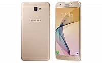 Samsung Galaxy On Nxt Gold Front, Back And Side pictures