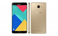 Samsung Galaxy A9 Pro (2016) Gold Front,Back And Side pictures