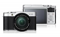 Fujifilm X-A10 Front And Back pictures