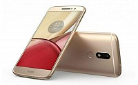 Motorola Moto M Gold Front,Back And Side pictures