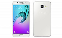 Samsung Galaxy A5 (2016) White Front And Back pictures