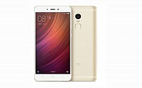Xiaomi Redmi Note 4 Gold Front And Back pictures