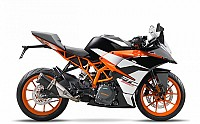 2017 KTM RC 390 Orange Black pictures