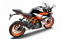 2017 KTM RC 390 Back pictures