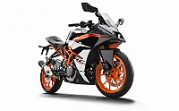 2017 KTM RC 390 Front pictures