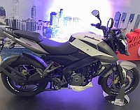Bajaj Pulsar 200NS White-Grey pictures