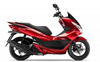Honda PCX 125 Pearl Siena Red pictures