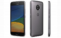 Motorola Moto G5 Plus Lunar Grey Front, Back And Side pictures