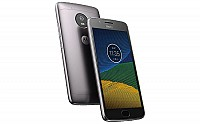 Motorola Moto G5 Lunar Grey Front, Back And Side pictures