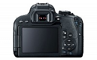 Canon EOS Rebel T7i Back pictures