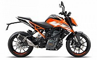 KTM Duke 250 Orange pictures