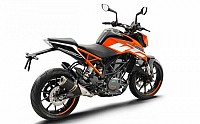KTM Duke 250 Back pictures
