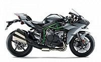 kawasaki ninja h2 carbon green pictures