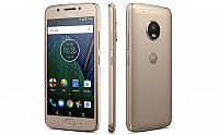 Motorola Moto G5 Plus Fine Gold Front,Back And Side pictures