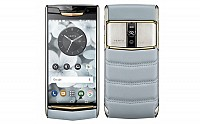 Vertu Signature Touch Sky Blue Front And Back pictures