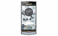 Vertu Signature Touch Sky Blue Front pictures