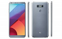 LG G6 Ice Platinum Front And Back Side pictures