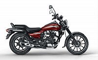 bajaj avenger street 150 Cosmic Red pictures