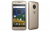 Motorola Moto G5 Fine Gold Front And Side pictures