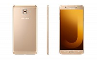Samsung Galaxy J7 Max Gold Front, Back And Side pictures