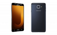 Samsung Galaxy J7 Max Black Front And Back pictures