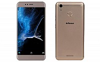 InFocus Turbo 5 Gold Front and Back pictures