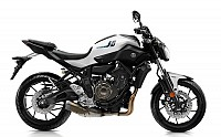 yamaha mt07 poder white pictures