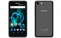 Panasonic P55 Max Matte Black Front And Back pictures