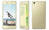 Sony Xperia X Performance Lime Gold Front, Back and Side pictures