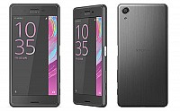 Sony Xperia X Performance Graphite Black Front, Back and Side pictures