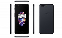 OnePlus 5 Slate Grey Front,Back And Side pictures