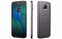 Motorola Moto G5S Plus Lunar Gray Front, Back And Side pictures