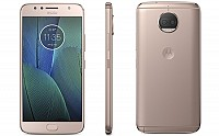 Motorola Moto G5S Plus Blush Gold Front, Back And Side pictures