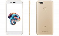 Xiaomi Mi A1 Gold Front, Back And Side pictures