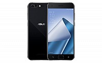 Asus ZenFone 4 Pro Pure Black Front And Back pictures