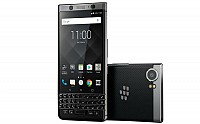 BlackBerry KEYone Silver Front And Back pictures