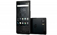 BlackBerry KEYone Limited Edition Black Front And Back pictures