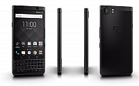 BlackBerry KEYone Limited Edition Black Front, Back And Side pictures