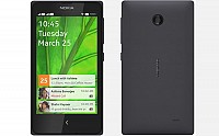 Nokia X Black Front And Back pictures