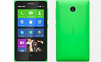 Nokia X Green Front And Back pictures