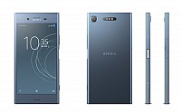 Sony Xperia XZ1 Moonlit Blue Front,Back And Side pictures