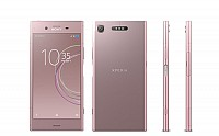 Sony Xperia XZ1 Venus Pink Front,Back And Side pictures