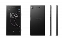 Sony Xperia XZ1 Black Front,Back And Side pictures