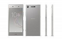 Sony Xperia XZ1 Warm Silver Front,Back And Side pictures